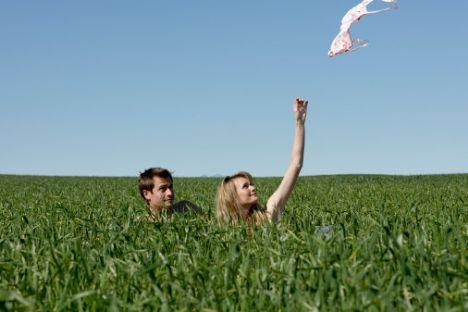 Yeşil  Güven ve huzur veren bir renktir. Yatak odası için rahatlatıcıdır. Yeşil yaratıcılığı körükler üretkenliği artırır. Yeşil alanda insanların daha az mide rahatsızlığı çektiği saptanmıştır. Sakinleştirici etkisinin yanı sıra, dostluk, şefkat ve ümit duygularına olumlu etkisi vardır.   Aşk rengi yeşil olanların; durgun, dengeli, ağırbaşlı ve istikrara önem veren bir yapıları vardır. Aşkta özgürlük ve doyumsuzluk ararlar.